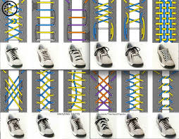 Shoelace Pattern For Vans | personalized decorated shoelaces lace patterns shoe lacing and