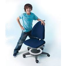 blue desk chairs furniture modern colorful computer desk with chair for kids cool