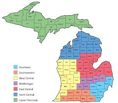 Upper Peninsula Map Michigan Health U0026 Hospital Association U003e About U003e Committees U0026 Councils