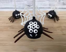 how to make creepy spider cake pops for halloween