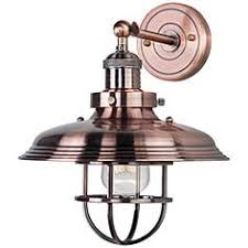 Copper Wall Sconce Copper Sconces Lamps Plus