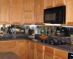 mirrored backsplash in kitchen glass and mirror dgmglass birmingham alabama
