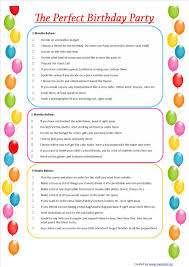 momsters parenting n all the jazz kids birthday checklist