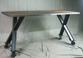 buy a hand made industrial desk table modern industrial dining