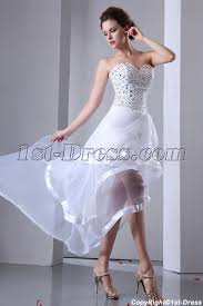 high to low wedding dress summer beaded sweetheart high low wedding gown 1st dress