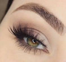lovely eye make up for spring