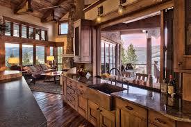 Modern Rustic Decor by 44 Brilliant Modern Rustic Kitchen Decor Ideas Homadein