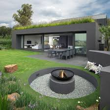 Build Backyard Fire Pit - 35 metal fire pit designs and outdoor setting ideas