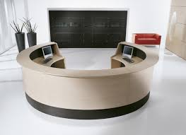 Circular Reception Desk Round Reception Desks Hula Home