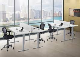 Adjustable Height Office Desk by Electric Height Adjustable Tables