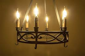 Vintage Wrought Iron Chandeliers Candle Light Bulbs For Chandeliers With Aliexpress Com Buy Free