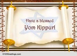yom jippur yom kippur cards free yom kippur wishes greeting cards 123