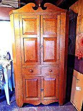 antique corner cabinets ebay