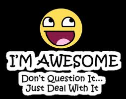 Awesome Meme Quotes - awesome quote awesome face epic smiley know your meme