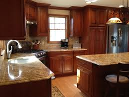 kitchen ideas cherry cabinets modern style black cherry kitchen cabinets whiskey black on cherry