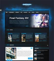 this wordpress gaming theme comes with 2 color schemes 5