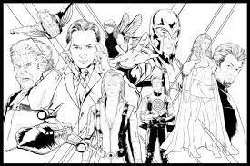x men coloring pages to download and print for free with x men