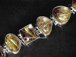 yellow quartz bracelet images Rutile jpg