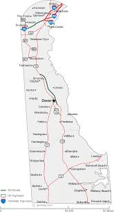 delaware road map usa map of delaware cities delaware road map
