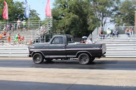 Ford Diesel Drag Truck - chutes and ladders drag racing at the 2017 scheid diesel
