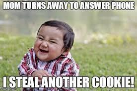 Answer Phone Meme - evil toddler meme imgflip