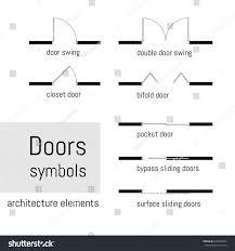 floor plan double door symbol drawing a floor plan floor plan