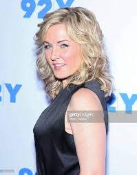 back view of amy carlson hair amy carlson attends the blue bloods 150th episode celebration at 92y picture id658590748