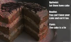 Cake Is A Lie Meme - cake philosophy memes quickmeme