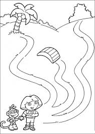 free dora colouring pages coloring pages