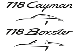 porsche logo black and white porsche boxster cayman to be renamed 718 go four cylinder in 2016