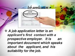 Job Application And Resume resume and job application
