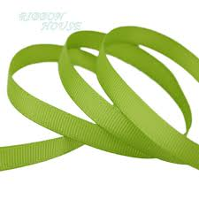 ribbons wholesale 10 yards roll 3 8 10mm fruit green grosgrain ribbon wholesale gift