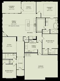parkhill 129 drees homes interactive floor plans custom homes