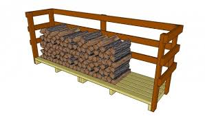 Wood Storage Rack Plans by 9 Free Firewood Storage Shed Plans Free Garden Plans How To
