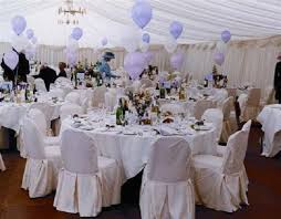 Purple Wedding Decorations Wedding Decoration With White And Purple Balloons