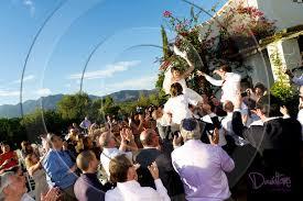 Jewish Wedding Chair Dance Villa Wedding In Spain
