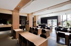 nice simple modern restaurant interior by adoc architects 7