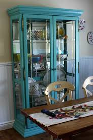 china cabinet funiture transparent blue sky glassina cabinets in