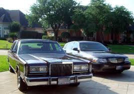 panther week comparison 1988 vs 2006 lincoln town car the
