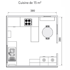 exemple plan de cuisine plan amenagement cuisine idee decoration cuisine contemporaine