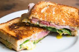 how to cook a thanksgiving ham greens eggs and ham grilled cheese sandwich recipe
