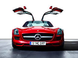 car mercedes 2010 2010 mercedes benz sls amg red front open doors 1280x960