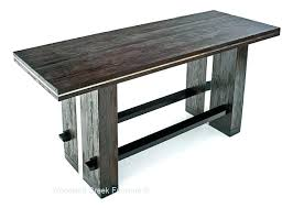wood counter height table bar tables with storage rustic counter height table modern bar