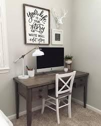 Desk Ideas For Bedroom Best 25 Small Office Decor Ideas On Pinterest Desk Student