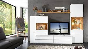 Wohnzimmerschrank Trento Vierteilige Wohnkombination Porto Höffner Wohnzimmerschränke