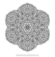 coloring pages archives ready start mandala
