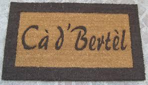 zerbini personalizzati on line prezzi 50 idee di tappeti personalizzati on line image gallery