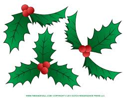 free christmas clip art holly clipart panda free clipart images