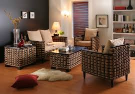 Living Room Wicker Furniture Wicker Living Room Furniture Indoor Rattan Furniture