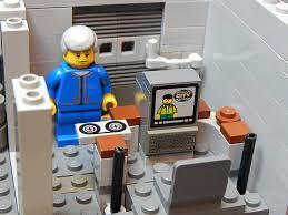Lego Office Lego Fallout 3 Vault Overseer U0027s Office By Mattforrest On Deviantart